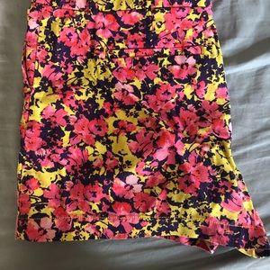 Floral loft shorts